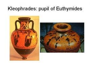 Kleophrades pupil of Euthymides Vase 1 Pointed Amphora
