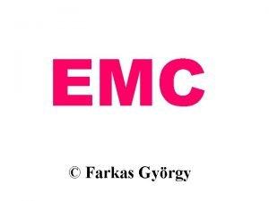EMC Farkas Gyrgy Farkas Gy EMC rnykolsi tartomnyok