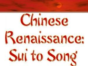 Sui Dynasty 581 618 C E v Land