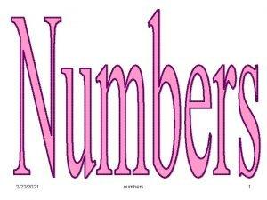2222021 numbers 1 2222021 numbers 2 2222021 numbers