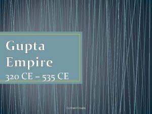Gupta Empire 320 CE 535 CE CyRanch Gupta