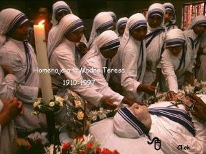Homenaje a la Madre Teresa 1910 1997 8
