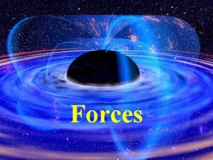 Forces Force and Net Force Force is a