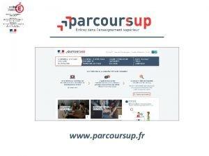 www parcoursup fr Procdure dmatrialise de gestion des