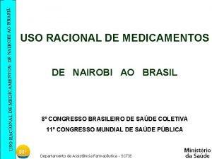 SIL USO RACIONAL DE MEDICAMENTOS DE NAIROBI AO