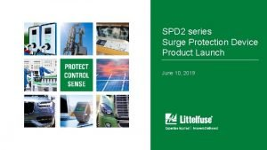 SPD 2 series Surge Protection Device Product Launch