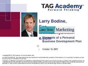 Larry Bodine Esq www Larry Bodin e com