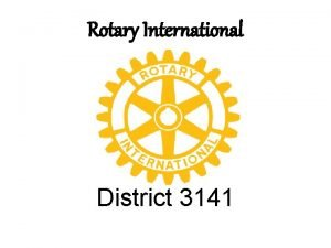 Rotary International District 3141 NITYAMWINS Toilets A Rotary