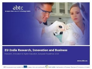 EUIndia Research Innovation and Business Research Innovation Higher