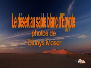 SAHARA Sahara je nejvt pou svta rozlohou 9