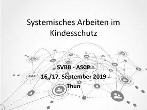 Systemisches Arbeiten im Kindesschutz SVBB ASCP 16 17