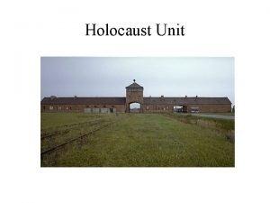 Holocaust Unit Holocaust Vocabulary Allies The nations fighting
