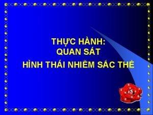 THC HNH QUAN ST HNH THI NHIM SC