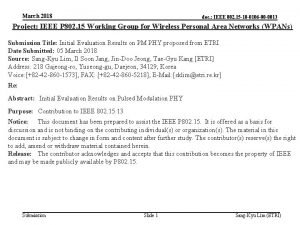 March 2018 doc IEEE 802 15 18 0106