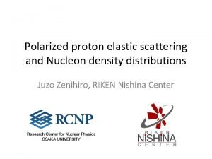 Polarized proton elastic scattering and Nucleon density distributions