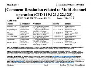 March 2014 doc IEEE 802 22 140044 r