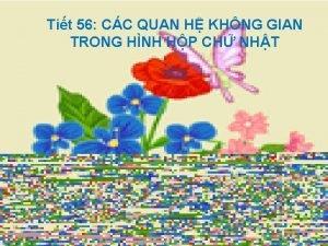 Tit 56 CC QUAN H KHNG GIAN TRONG