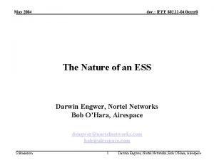 May 2004 doc IEEE 802 11 040 xxxr