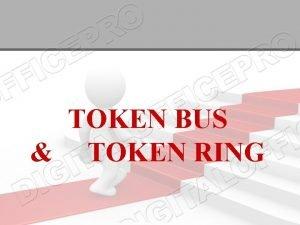 TOKEN BUS TOKEN RING IEEE 802 Subgroups and