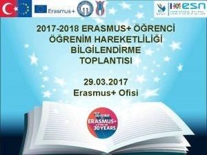 2017 2018 ERASMUS RENC RENM HAREKETLL BLGLENDRME TOPLANTISI