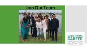 Join Our Team Network Learn Serve Lead CCDA