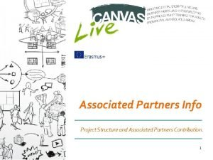 Associated Partners Info Project Structure and Associated Partners