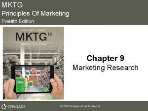 MKTG Principles Of Marketing Twelfth Edition Chapter 9