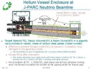 Helium Vessel Enclosure at JPARC Neutrino Beamline Vessel