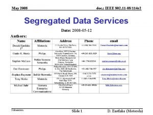 May 2008 doc IEEE 802 11 08114 r