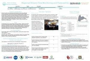 Water Water Related Disasters Regional Stream Flow Monitoring
