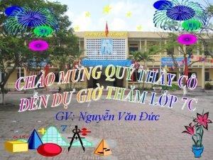 Trng THCS Hng H GV Nguyn Vn c