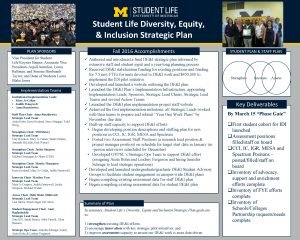 Student Life Diversity Equity Inclusion Strategic Plan PLAN