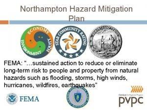Northampton Hazard Mitigation Plan FEMA sustained action to