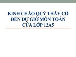 KNH CHO QU THY C N D GI