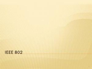 IEEE 802 1 VSEBINA Druina IEEE 802 Poddruina