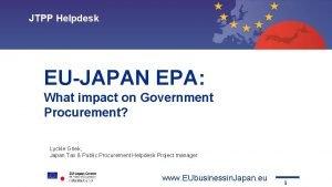 JTPP Helpdesk Topic 1 Topic 2 Topic 3