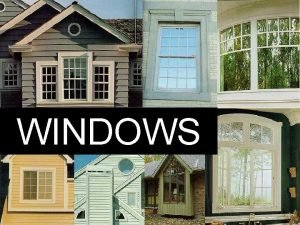 WINDOWS pane Window pane divider also called a