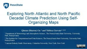 Exploring North Atlantic and North Pacific Decadal Climate