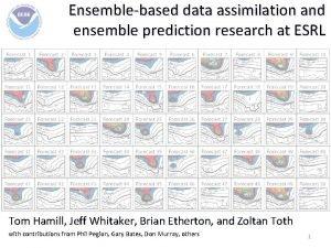 Ensemblebased data assimilation and ensemble prediction research at