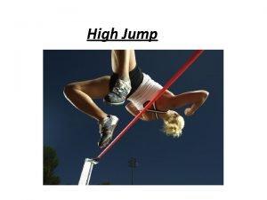 High Jump C R O W D High