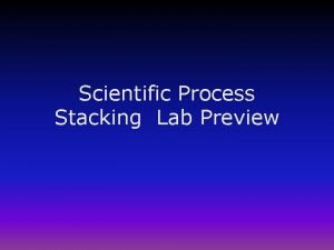 Scientific Process Stacking Lab Preview Scientific Process Labs