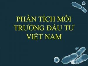 PH N TCH MI TRNG U T VIT