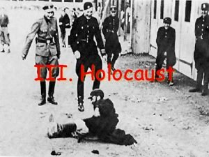 III Holocaust The Hitler Youth A Holocaust Begins