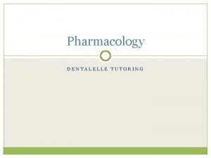 Pharmacology DENTALELLE TUTORING WHAT ARE AUTACOIDS OCCUR NATURALLY