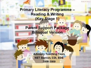 Primary Literacy Programme Reading Writing Key Stage 1