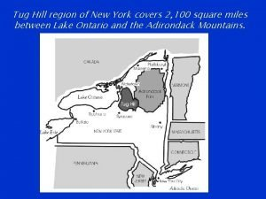 Tug Hill region of New York covers 2