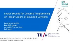 Lower Bounds for Dynamic Programming on Planar Graphs