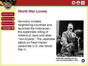 World War Looms Germany invades neighboring countries and
