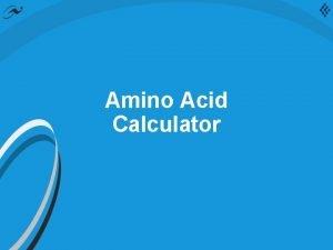 Amino Acid Calculator Clinisol 15 AA Excel Calculator