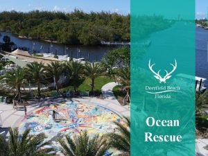 Name of Department Ocean Rescue Ocean Rescue Name